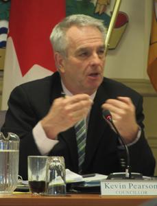 Kevin Pearson, Sooke council, 2015 file photo