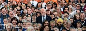 BC NDP Leader John Horgan will officially launch his campaign on March 11.