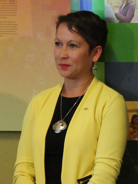 Melanie Mark, Minister of Advanced Education Skills and Training