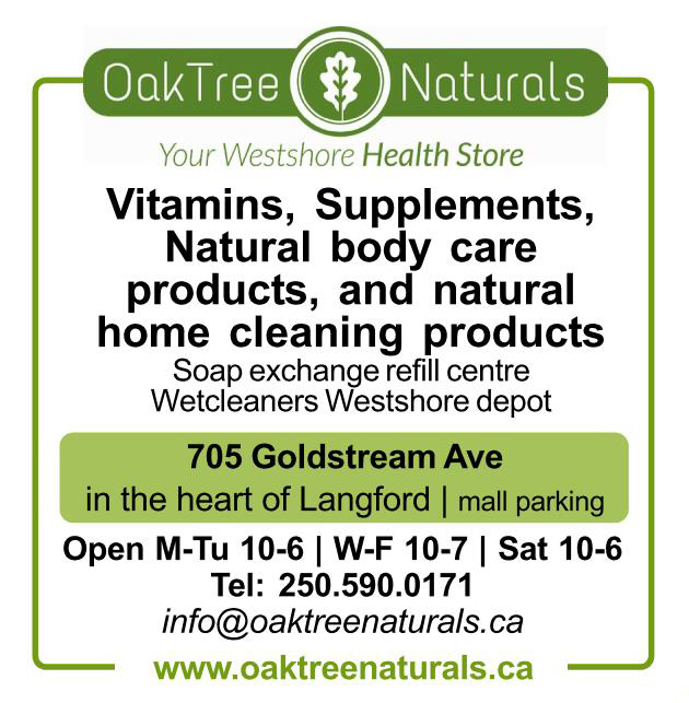 Vitamins, supplements, natural body care products, and natural cleaning products - Oak Tree Naturals