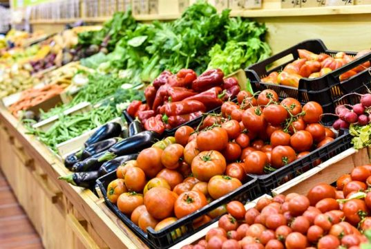 fruits, vegetables, grocery store