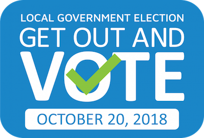 vote, municipal election, october 20