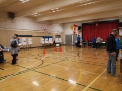 voting station, langford