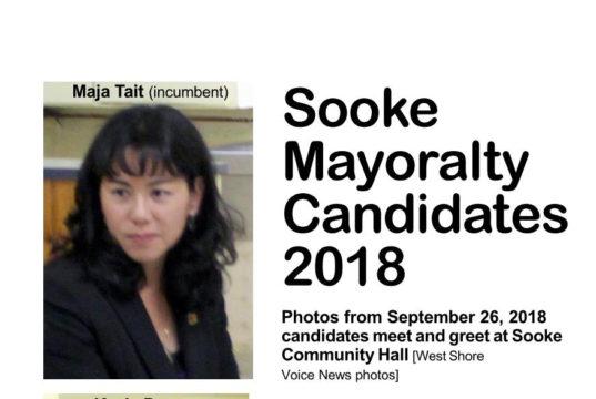 sooke, mayoralty candidates