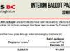 elections bc, electoral reform referendum
