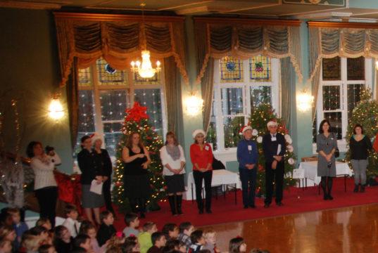 Government House, holiday season, schools