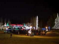 colwood, christmas lightup