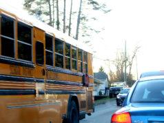sd62, school bus, sooke