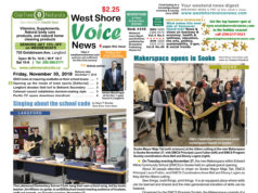 West Shore Voice News, Langford, holiday season