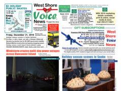 West Shore Voice News, Christmas, Electoral Reform Referendum