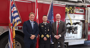 Langford Fire Rescue, City of Langford, Mayor Stew Young, Fire Chief Chris Aubrey, Wounded Warrior Canada, Scott Maxwell, partnership