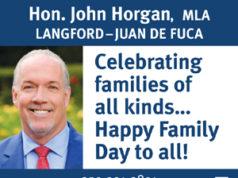 BC Premier John Horgan on Family Day