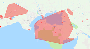 BC Hydro, power outages, East Sooke, Otter Point, Sooke