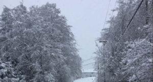 sooke, snowy roads