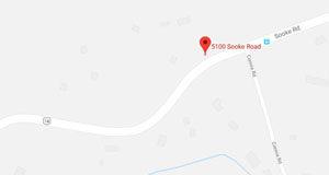 Sooke Road, Highway 14, map