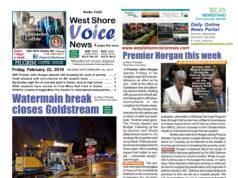 West Shore Voice News, February 22 2019