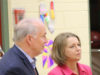 Premier John Horgan, Mitzi Dean MLA, Wishart Elementary, Colwood, SD62