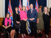 Premier John Horgan, Mitzi Dean MLA, international women's day
