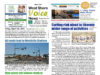 West Shore Voice News, spring break, cover