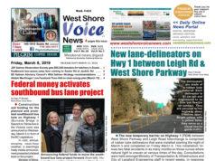 West Shore Voice News, March 8 2019