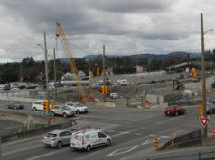 Highway 1, McKenzie Interchange, April 2019