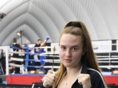 SuperChannel Boxing Championship, youth women, female boxer, Emily Walker