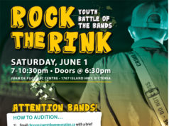 rock the rink, youth bands