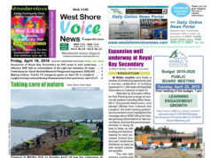 West Shore Voice News, April 19 2019, Earth Day, Easter