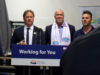 CleanBC, Langford, Mayor Young, Premier Horgan, RedBlue