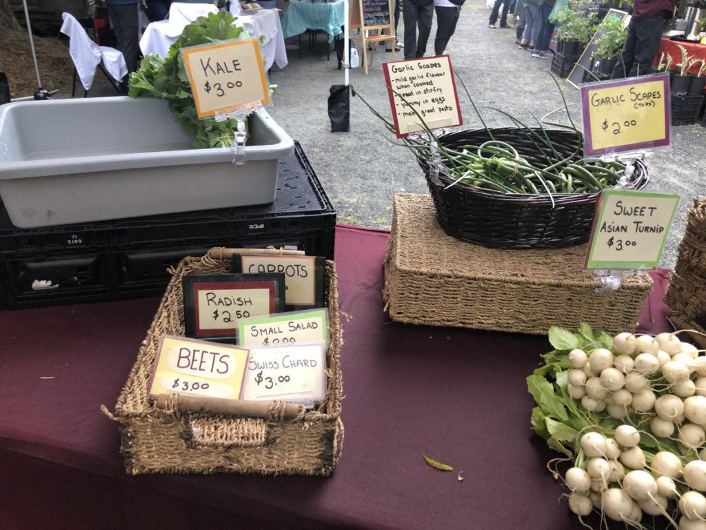 Sooke Night Market, local produce