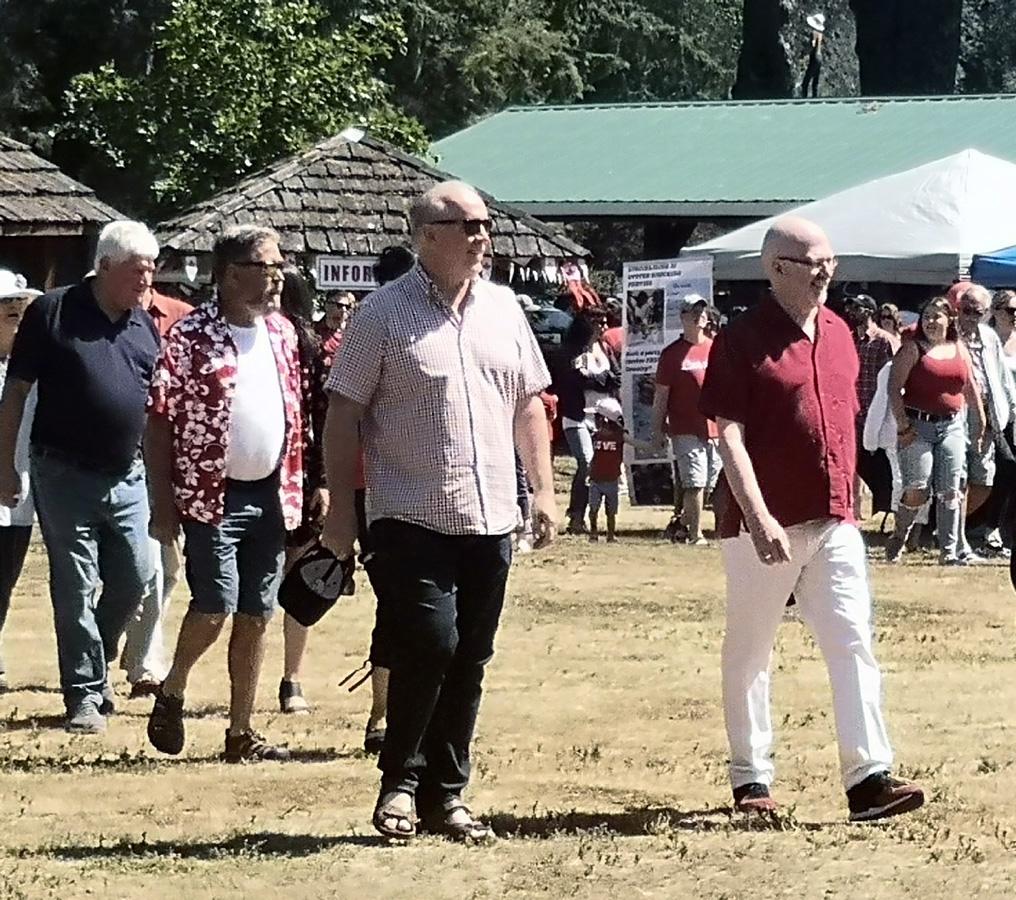 Sooke Canada Day, parade, John Horgan, Randall Garrison