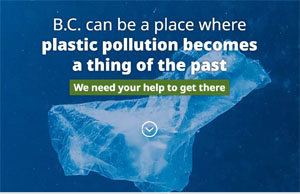 BC public input on reducing plastic pollution