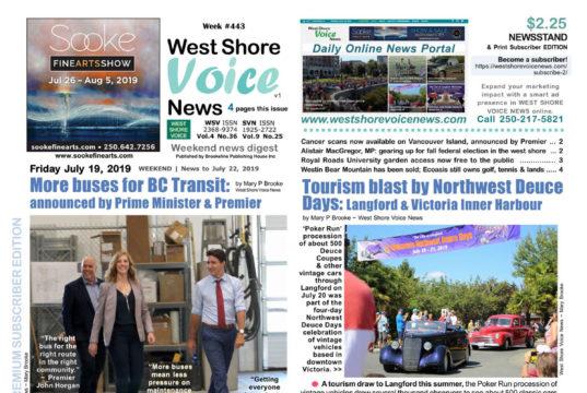 West Shore Voice News, July 19 2019