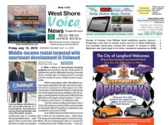 West Shore Voice News, page 1, July 12