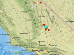 earthquake, California