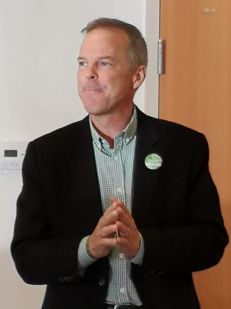David Merner, Esquimalt-Saanich-Sooke, Green Party