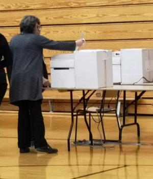 ballot scanner, Sooke