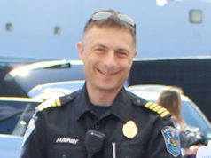 Langford Fire Chief, Chris Aubrey