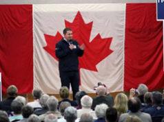 Andrew Scheer, Conservative leader, Parksville