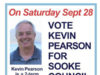 Kevin Pearson, by-election, Sooke