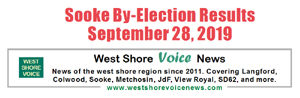 Sooke By-election, results