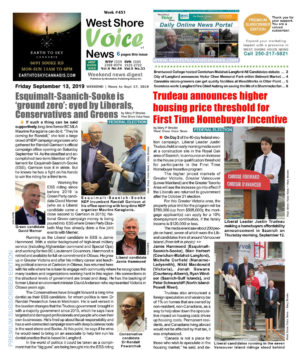 Wests Shore Voice News, September 13 to 17, 2019