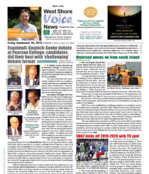 WSV cover, September 20 2019