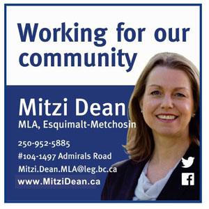 Mitzi Dean, MLA (Esquimalt-Metchosin)