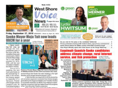 West Shore Voice News, cover, September 27 2019