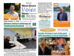 West Shore Voice News, Thanksgiving edition 2019