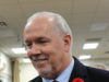 Premier John Horgan, Remembrance Day, Langford Legion