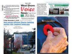 November 8, 2019, weekend digest, West Shore Voice News