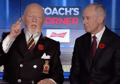 Don Cherry, fired, Hockey Night in Canada