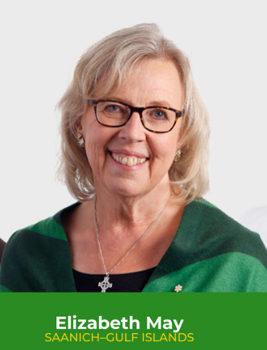 Elizabeth May, Green Party